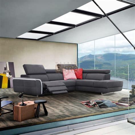 canapé d angle avec relax canapé d angle avec méridienne et relax idées de