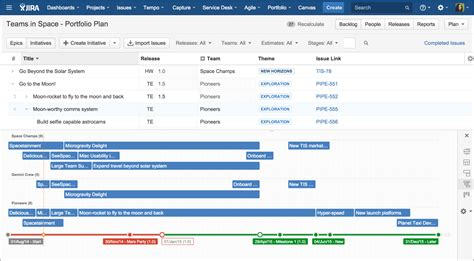 jira portfolio track work  multiple projects
