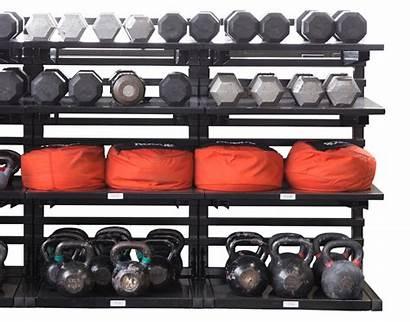Kettlebell Storage Lift Dumbbell Rack Heavy Sandbag