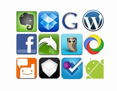 Software App Tipos Programas Hardware Son Collage
