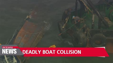 Fishing Boat Crash Youtube by 13 Dead Two Missing From Fishing Boat Crash With