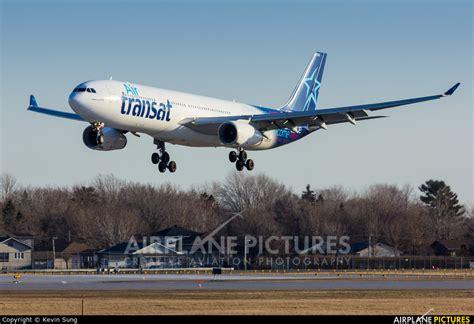 air transat toulouse montreal c gkts air transat airbus a330 300 at montreal elliott trudeau intl qc photo id