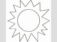 Sun pattern Use the printable outline for crafts