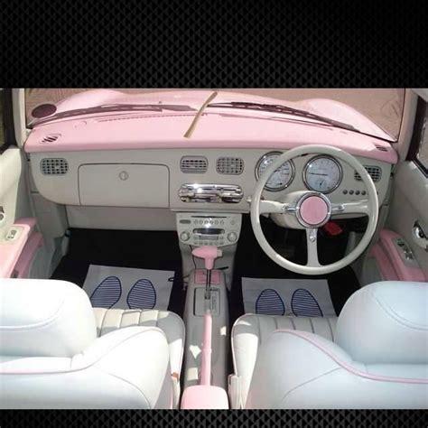 nissan figaro interior 25 best pink car interior ideas on pinterest