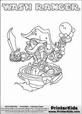 Skylanders Coloring Pages Swap Force Thin Line Ranger Trigger Wash Happy Shaded Colouring Printerkids sketch template