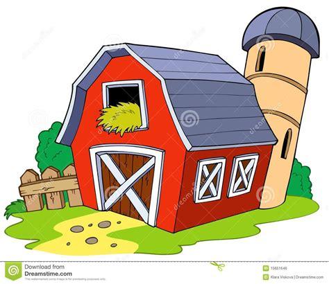 ranch building barn royalty free stock image image 15651646