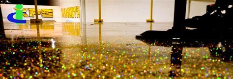 Carbolink's Gold/ Silver/ Other Metallic Epoxy Flooring