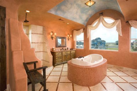 colorful southwestern bathroom designs  inspire