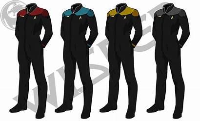 Uniform Trek Uniforms Starfleet Star Rpg Concept