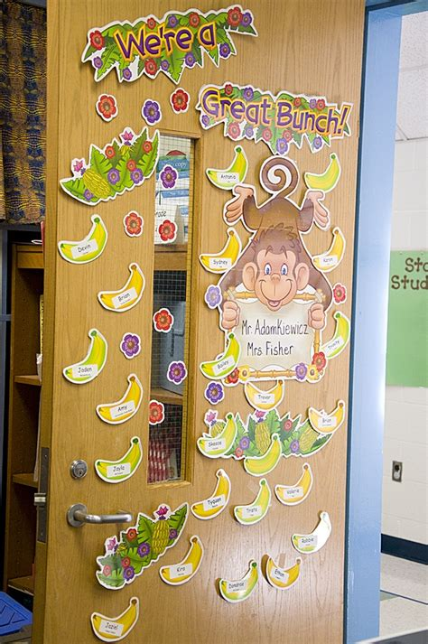 118 best images about classroom themes jungle amp monkey 134 | 5a910083d7d834a060f9baeab2bd6232 classroom door classroom themes