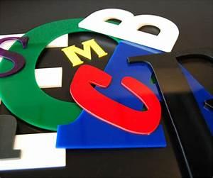Laser cut acrylic letters signage tap plastics for Small plastic letters for signs