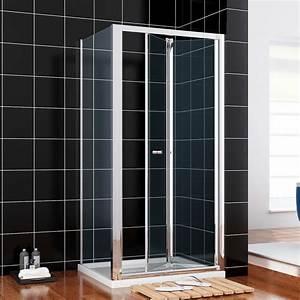 Falttür Dusche Kunststoff : faltt r dusche duschkabine 80cm faltduschkabine nischent r duscht r h he 185cm ebay ~ Frokenaadalensverden.com Haus und Dekorationen