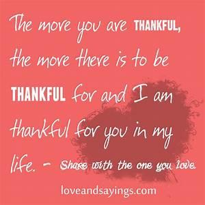 Grateful For Love Quotes. QuotesGram