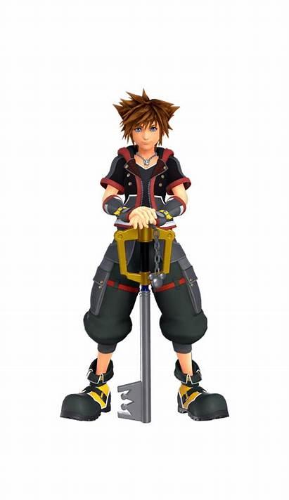 Sora Characters Hearts Kingdom Heroes Kingdomhearts