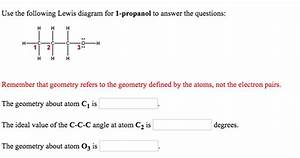 Solved  Use The Following Lewis Diagram For 1
