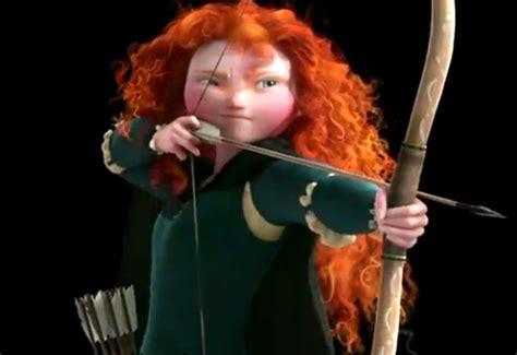 How Merida got such great hair from Disney's Brave ...