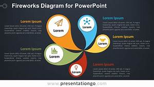 Fireworks Diagram For Powerpoint