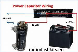 How To Install An Power Capacitor  U2013 Radio Dash Kits Car
