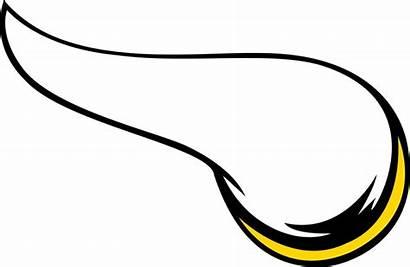 Vikings Minnesota Clipart Clip Helmet Horn Horns
