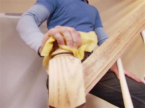 How To Stain A Banister