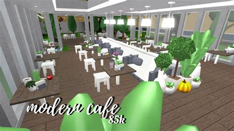 If you enjoyed the build, give the video a thumbs up! Welcome to Bloxburg: Modern Cafe   Roblox - YouTube