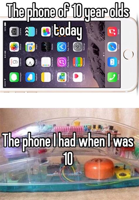 year olds phone today had
