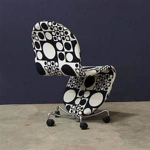 Panton Chair Original : 1970 verner panton 1 2 3 serie office chair original ~ Michelbontemps.com Haus und Dekorationen