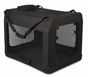 Internets best soft sided dog crate large 32 inches for Collapsible mesh dog crate