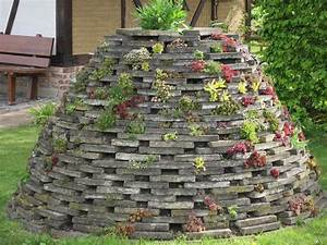 Steine Mauer Garten : steine als nisthilfen steingarten fences ~ Watch28wear.com Haus und Dekorationen