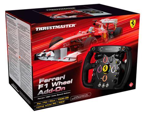 thrustmaster ferrari  italia racing wheel add