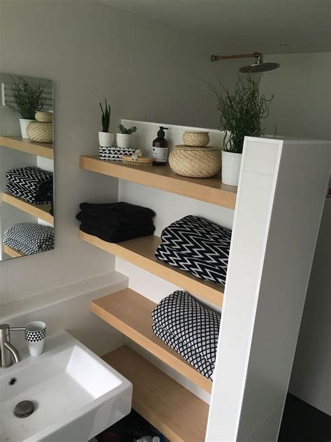 Modern Bathroom Shelving Ideas by 25 Best Built In Bathroom Shelf And Storage Ideas For 2019