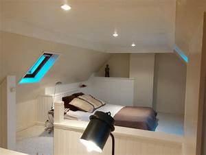 awesome idee deco chambre mansardee gallery awesome With amenagement chambre 2 lits