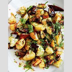 Recipe Of The Week Roasted Potatoes And Eggplants Post