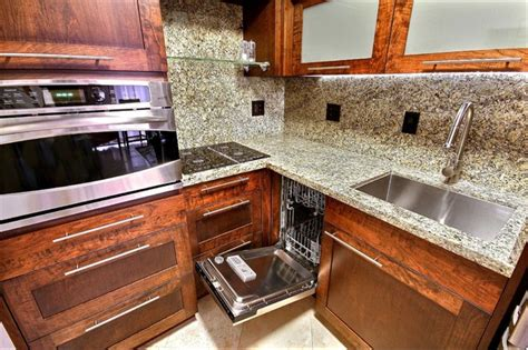 45 ft bathroom custom cabinetry granite and stainless steel appliances