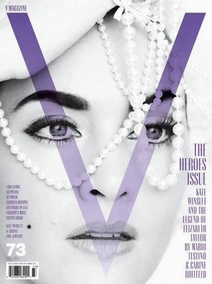 flattery is a form of hatred kate winslet channels elizabeth taylor for v magazine