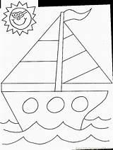 Coloring Sailboat Transportation Transport Printable Air Balloon Coloringpages101 Pdf sketch template