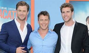 Luke Hemsworth on growing up with brothers Chris and Liam ...