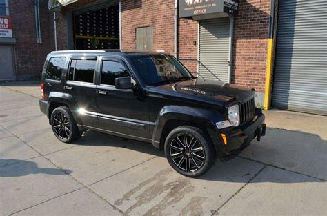 black jeep liberty with black rims 4 gwg wheels 18 quot black laser flow rims fits 5x114 3 jeep