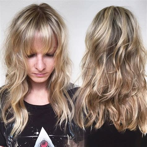15 hottest medium length hairstyles with bangs popular