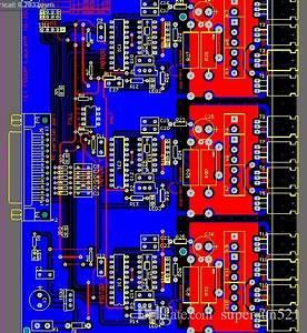 L297 Stepper Motor Controller Irlz44n 7409 Stepper Motor