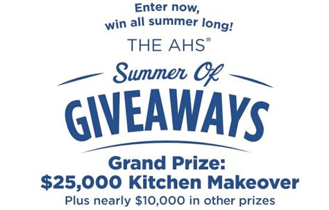 win kitchen makeover 2014 american home shield launches quot summer of giveaways quot with 1538