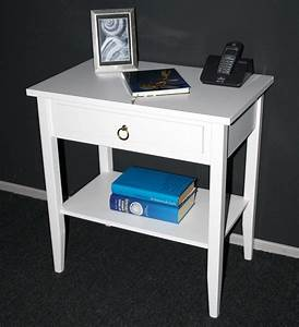 Wäschetruhe Holz Weiß : massivholz beistelltisch nachttisch konsolentisch holz massiv wei ~ Indierocktalk.com Haus und Dekorationen