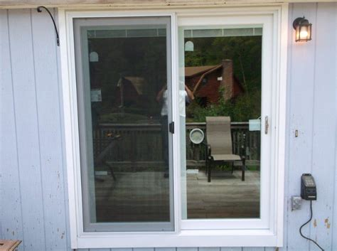 Harvey Patio Door With Blinds Installation