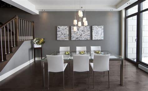 salle a diner contemporaine 192 bruno sur le lac danielle bonneau maisons