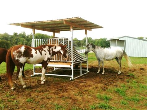 hay feeders for horses hay feeders run in shelter kits klene pipe structures