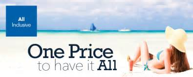 all inclusive vacation packages