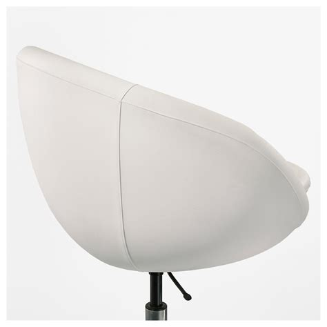 chaise bureau pivotante skruvsta swivel chair idhult white ikea