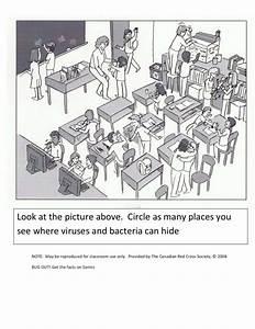 Virus And Bacteria Worksheet Worksheet For 3rd