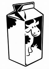 Milk Carton Coloring Cow Netart Pages Template Colour Printable Drawings Draw Sketch Preschool Easy Books Visit sketch template