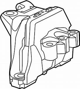 Dodge Dart Engine Mount Bracket  Dart  Right  W  O Turbo  2